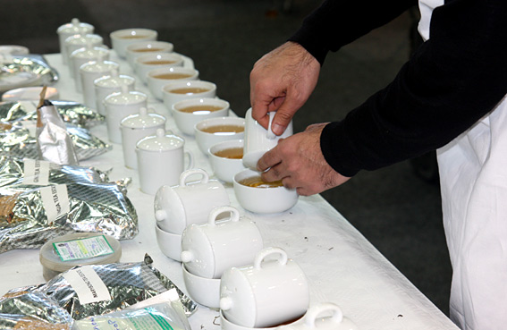 Tea & Coffee World Cup 2010 - Vienna - Darjeeling Tea