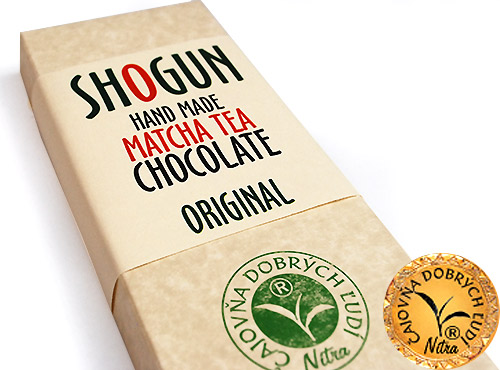 SHOGUN -Hand Made Matcha Tea Chocolate- Original