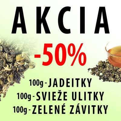 "<p><span style=""color: #ff0000;"">AKCIA</span> - 100g+100g+100g <span style=""color: #ff0000;"">-50%</span></p>"