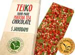 TEIKO - Hand Made Matcha Tea Chocolate- S jahodami